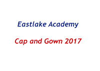 East Lake Academy Cap and Gown Spring 2017