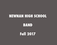 Newnan High Band Fall 2017