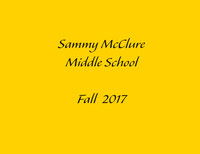 McClure Middle School Fall 17