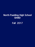 North Paulding High Band Fall 17
