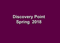 Discovery Point Spring 2018