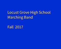 Locust Grove Band Fall 2017